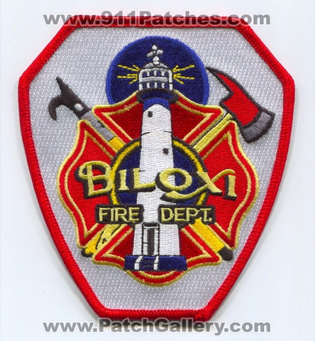 Biloxi Fire Department Patch Mississippi MS