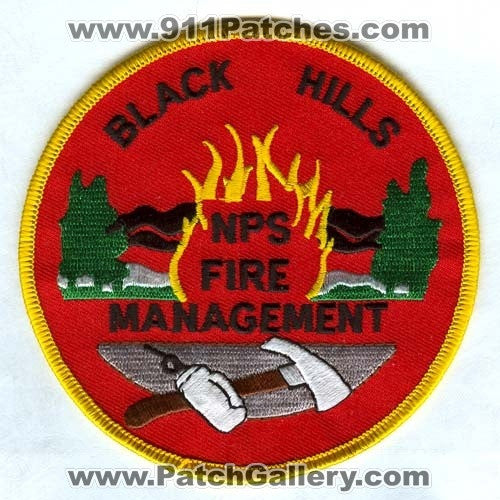 FOREST WILDLAND PARK FIRE SERVICE FIREFIGHTER SHIELD PATCH