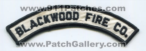 Blackwood Fire Company Patch New Jersey NJ