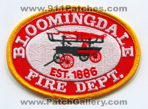 Bloomingdale Fire Department Patch Michigan MI