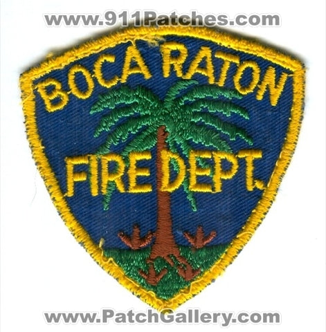 Boca Raton Fire Department Patch Florida FL
