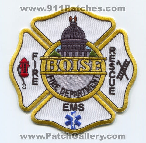 Boise Fire Department Patch Idaho ID