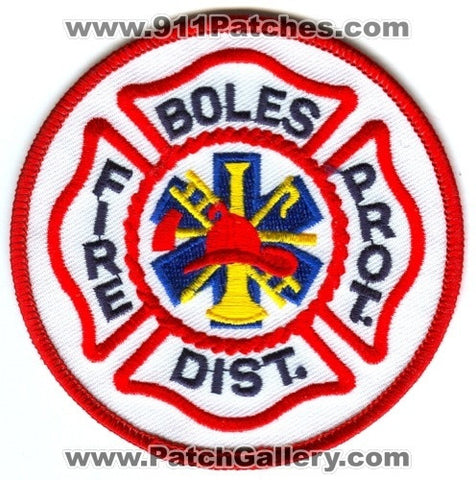 Boles Fire Protection District Patch Missouri MO