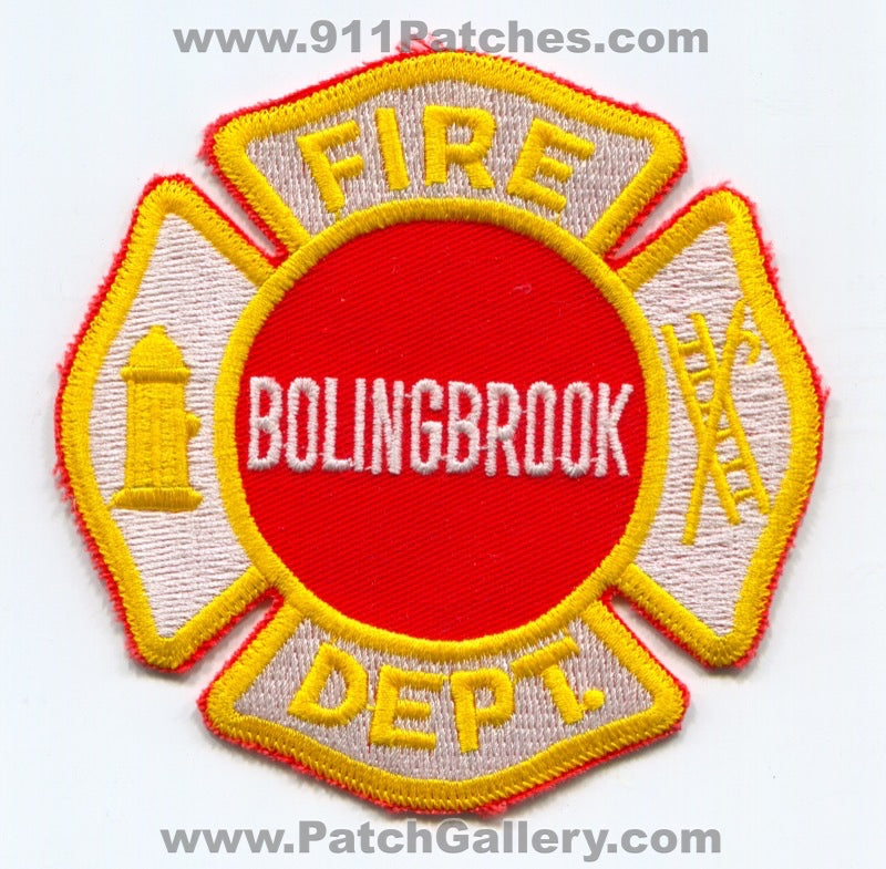 Bolingbrook Fire Department Patch Illinois IL
