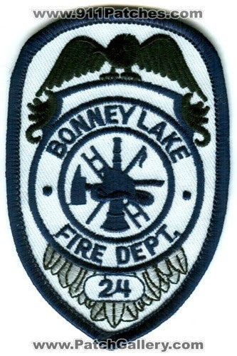Bonney Lake Fire Department King County District 24 Patch Washington WA