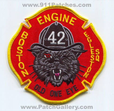 Boston Fire Department Engine 42 Patch Massachusetts MA
