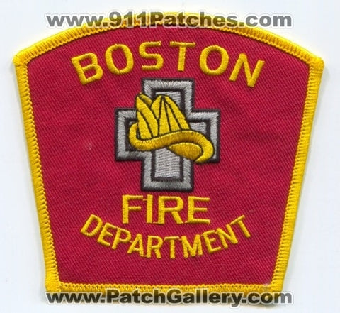 Boston Fire Department Patch Massachusetts MA