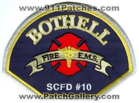Bothell Fire EMS Department Snohomish County District 10 Patch Washington WA