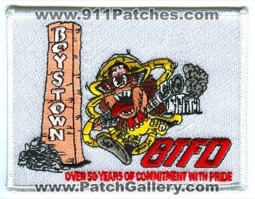 Boys Town Fire Department Patch Nebraska NE
