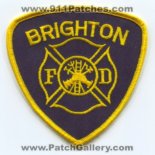 Brighton Fire Department Patch New York NY