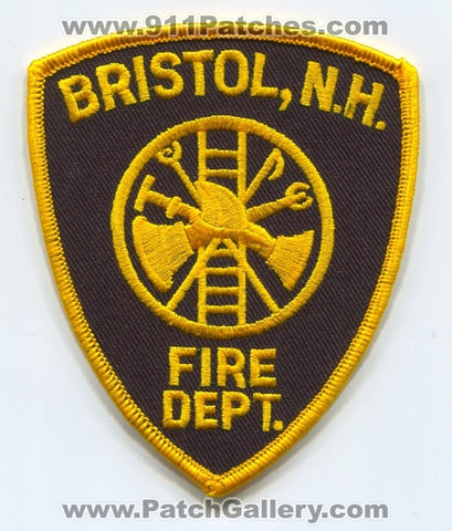 Bristol Fire Department Patch New Hampshire NH