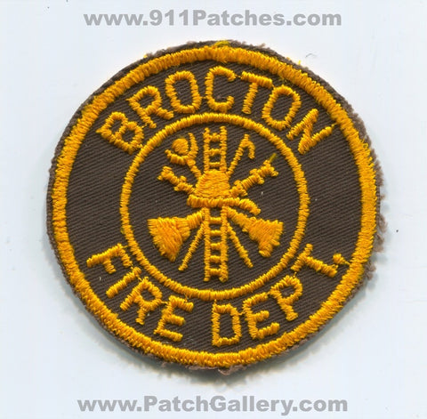 Brocton Fire Department Patch Ohio OH