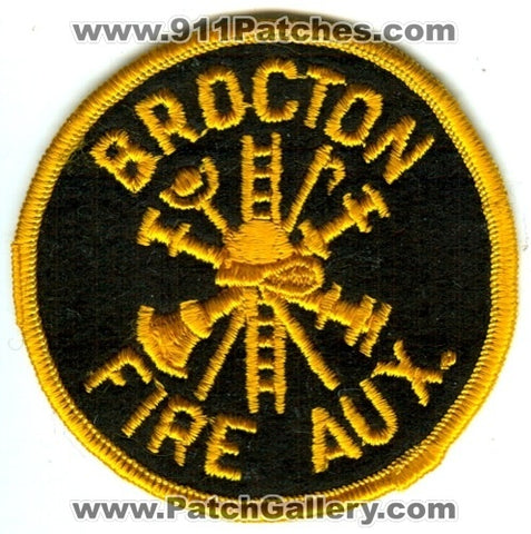 Brocton Fire Department Auxiliary Patch Unknown State