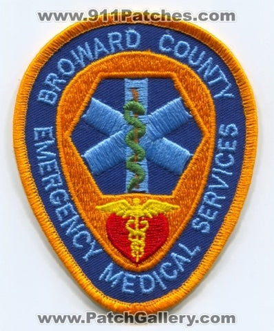 Broward County Emergency Medical Services EMS Patch Florida FL