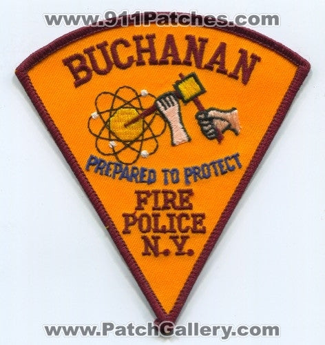 Buchanan Fire Police Department Patch New York NY