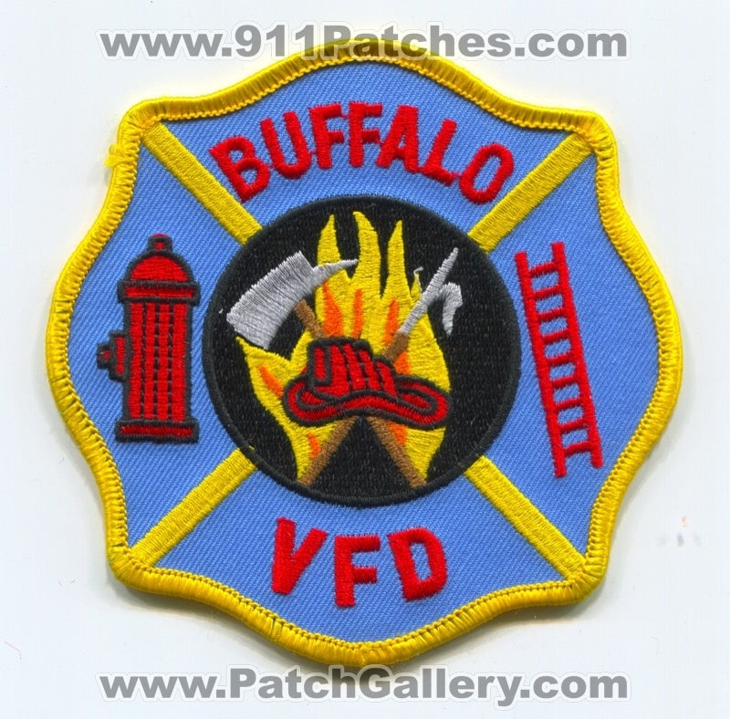 Buffalo Volunteer Fire Department Patch Unknown State