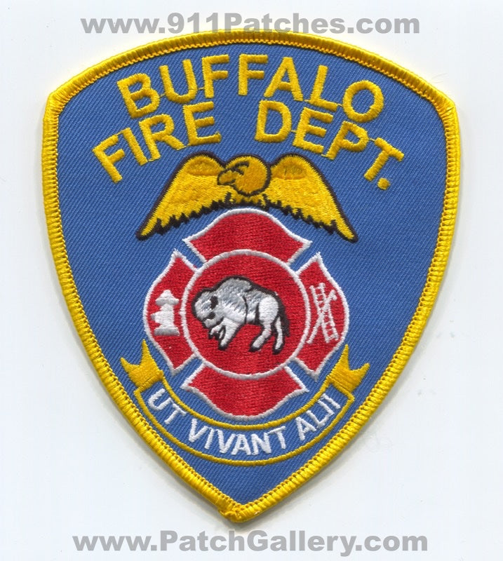 Buffalo Fire Department Patch New York NY