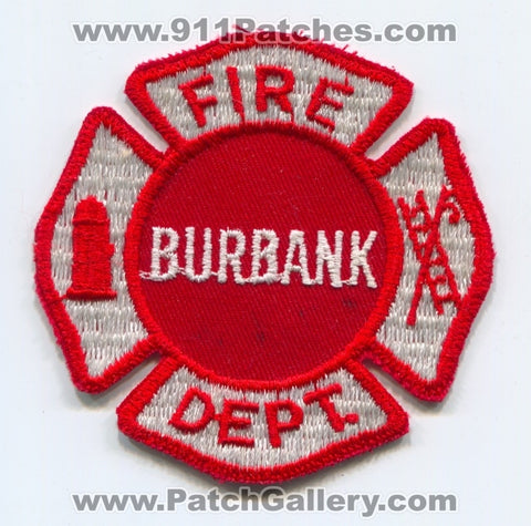 Burbank Fire Department Patch Illinois IL