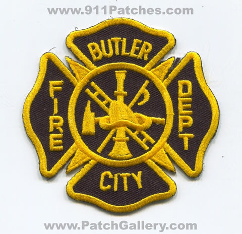 Butler City Fire Department Patch Pennsylvania PA