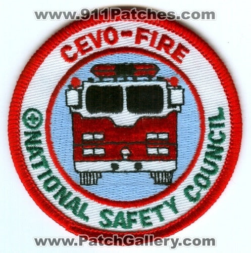 CEVO Coaching the Emergency Vehicle Operator Fire National Safety Patch Illinois IL