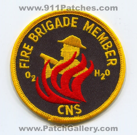 CNS Fire Brigade Member Patch Unknown State