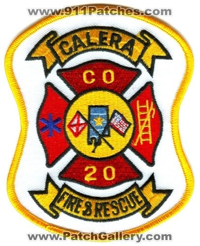 Calera Fire and Rescue Department Company 20 Patch Alabama AL