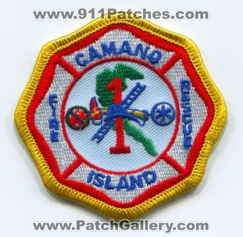 Camano Island Fire Rescue Department Island County District 1 Patch Washington WA
