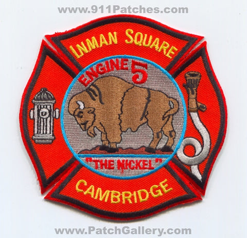 Cambridge Fire Department Engine 5 Inman Square Patch Massachusetts MA