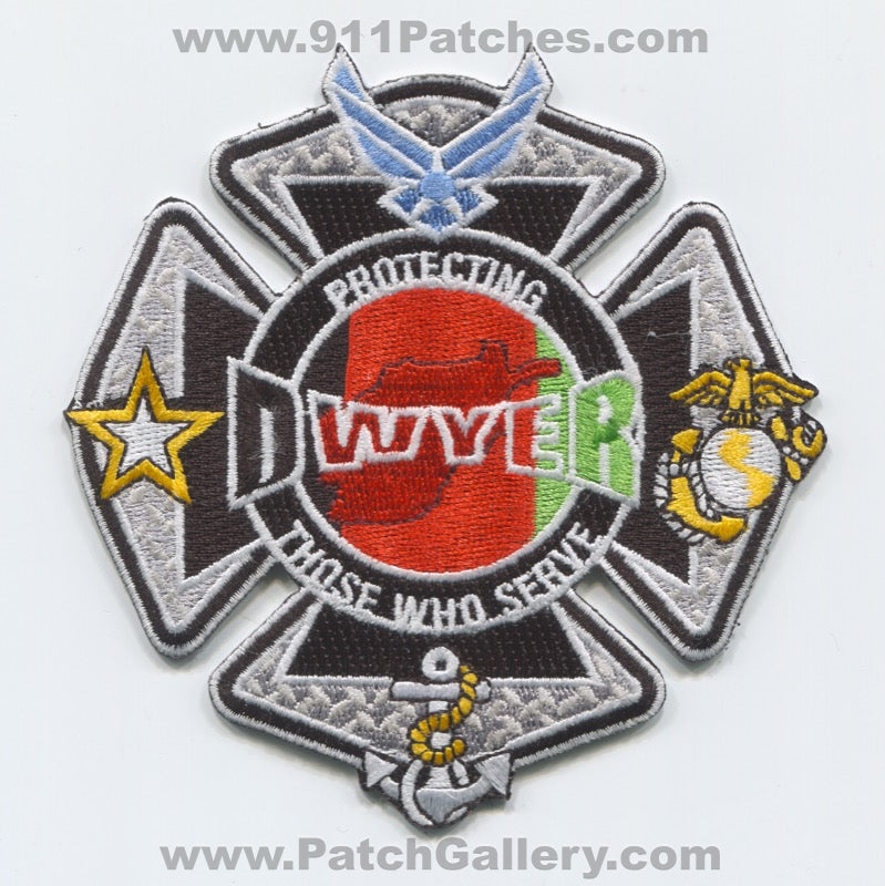 Afghanistan - Camp Dwyer Fire Department Military Patch