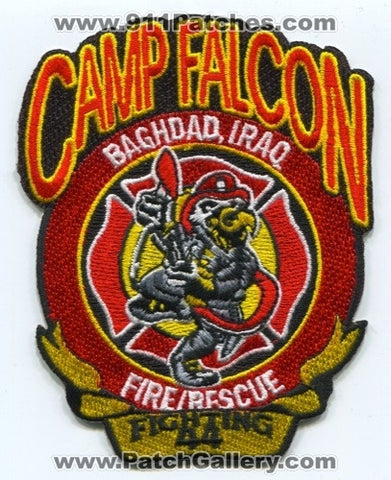 Iraq - Camp Falcon Fire Rescue Department Military Patch