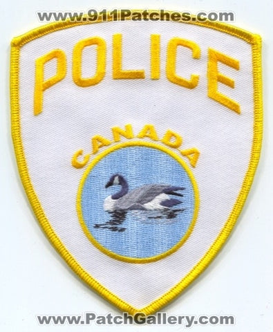 Canada - Canadian National Railway Police Department Patch Prototype