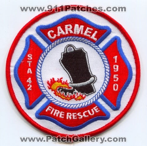 Carmel Fire Rescue Department Station 42 Patch Indiana IN