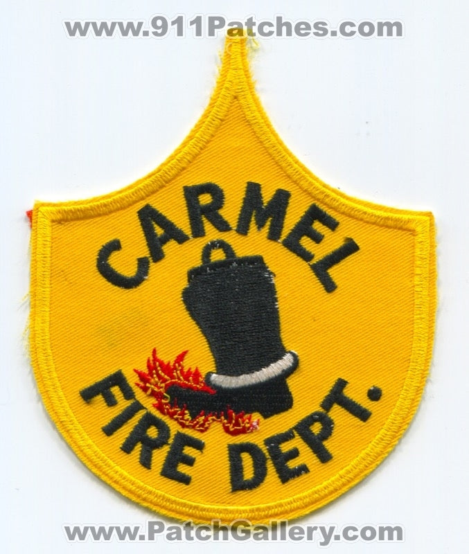 Carmel Fire Department Patch Maine ME