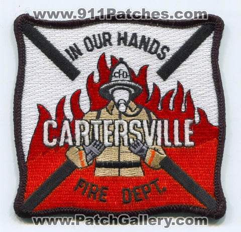 Cartersville Fire Department Patch Georgia GA