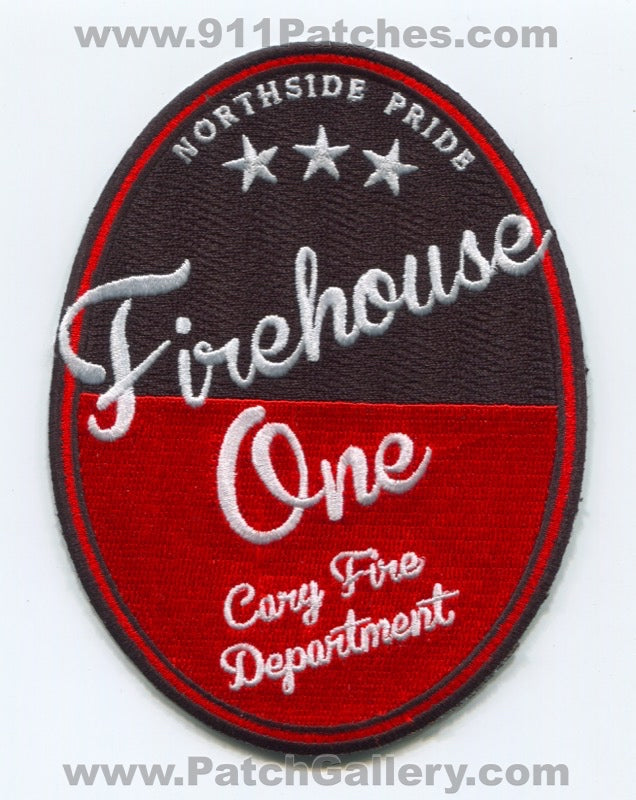 Cary Fire Department Firehouse One Patch North Carolina NC