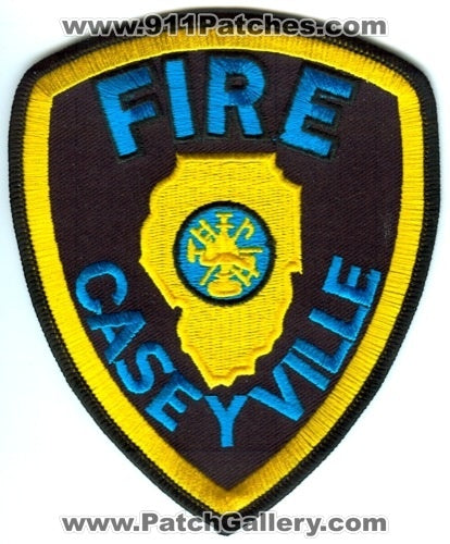 Caseyville Fire Department Patch Illinois IL