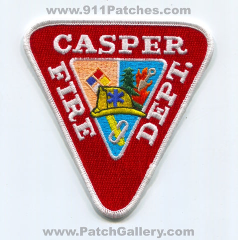 Casper Fire Department Patch Wyoming WY