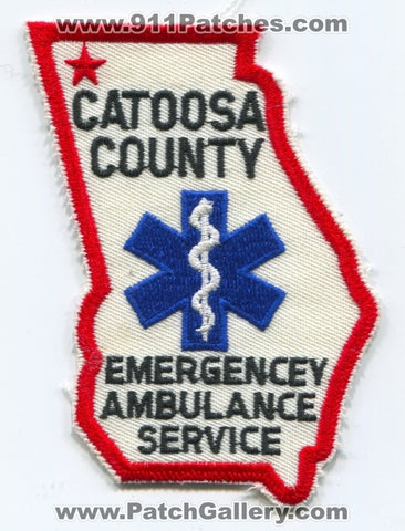 Catoosa County Emergency Medical Services EMS Patch Georgia GA