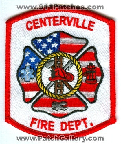 Centerville Fire Department Patch Ohio OH