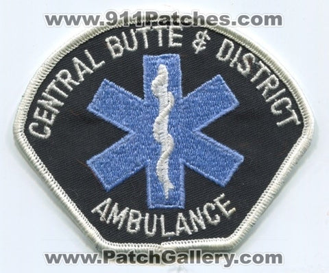 Canada - Central Butte and District Ambulance EMS Patch
