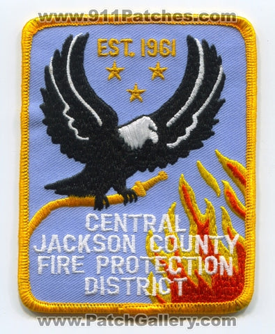 Central Jackson County Fire Protection District Patch Missouri MO