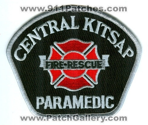Central Kitsap Fire Rescue Department Paramedic EMS Patch Washington WA