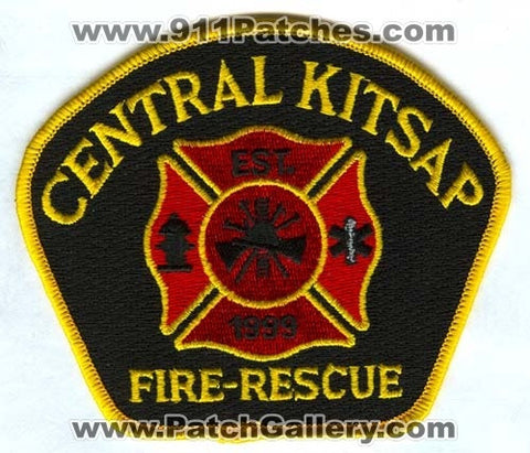 Central Kitsap Fire Rescue Department Patch Washington WA