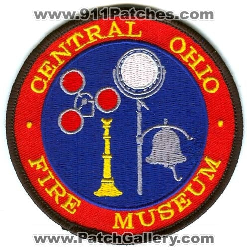 Central Ohio Fire Museum Patch Ohio OH