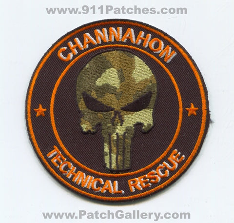 Channahon Technical Rescue Patch Illinois IL