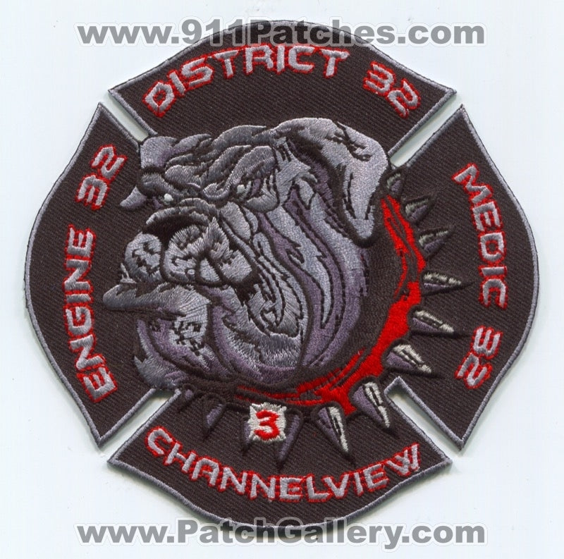 Channelview Fire Department Station 32 Patch Texas TX