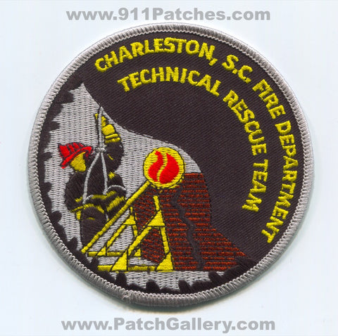Charleston Fire Department Technical Rescue Team Patch South Carolina SC