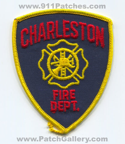 Charleston Fire Department Patch South Carolina SC