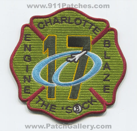 Charlotte Fire Department Station 17 Airport Patch North Carolina NC