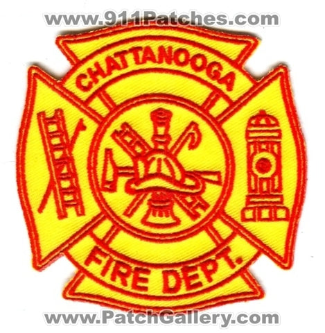 Chattanooga Fire Department Patch Ohio OH